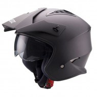 CASCO TRIAL UNIK NEGRO MATE