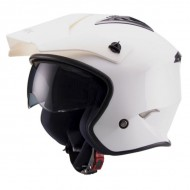 CASCO TRIAL UNIK BLANCO