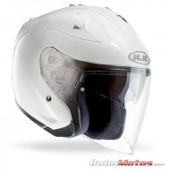 CASCO HJC  FGJET PEARL WHITE RYAN