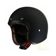 CASCO JET CUSTOM BLACK&LIGHT NEGRO MATE B&L02