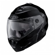 CASCO MODULAR DUKE NEGRO BRILLO
