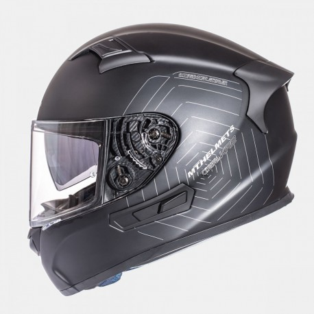 CASCO INTEGRAL MT KRE SOLID NEGRO MATE