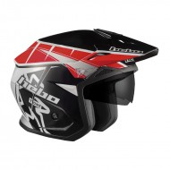 TRIAL ZONE 5 T-ONE HC1114 NEGRO/ROJO