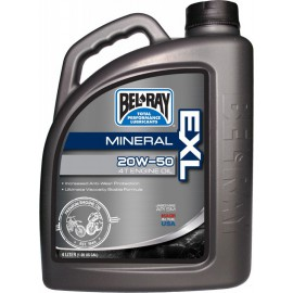 ACEITE BEL-RAY MOTOR 4T EXL MINERAL 20W50