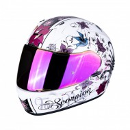 CASCO INTEGRAL SCORPION EXO-390 CHICA BLANCO PERLA