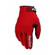 GUANTES TRIAL TEAM II JUNIOR ROJO