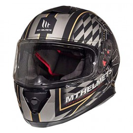CASCO INTEGRAL MT THUNDER 3 ISLE OF MAN ORO