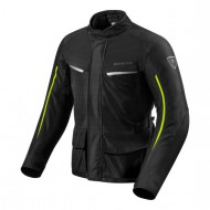 CHAQUETA REV'IT VOLTIAC 2 NEGRO/FLUOR