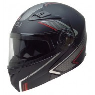 CASCO LEVEL LUP1 NEO NEGRO/GRIS/ROJO