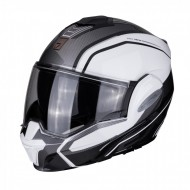 CASCO MODULAR EXO-TECH TIME-OFF BLANCO/GRIS