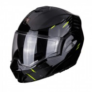 CASCO MODULAR EXO-TECH PULSE NEGRO/FLUOR