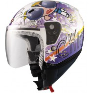 CASCO JET KID TRES CHIC KIDS II BLANCO