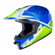 CASCO CROSS/ENDURO JUNIOR HJC CL-XY II ELLUSION MC2SF