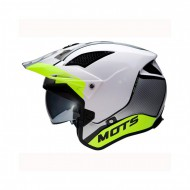 CASCO TRIAL MOTS JUMP UP02 BLANCO/FLUOR