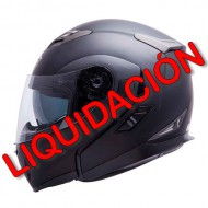 CASCO MT FLUX NEGRO MATE