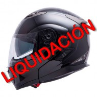 CASCO MT FLUX NEGRO BRILLO