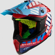CASCO OFF ROAD FALCON ENERGY B5 GLOSS RED