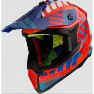 CASCO OFF ROAD FALCON ENERGY B14 GLOSS FLUOR ORANGE