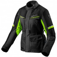 CHAQUETA REV'IT OUTBACK 3 NEGRA/FLUOR