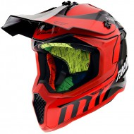CASCO OFF ROAD FALCON WARRIOR C5 GLOSS PEARL RED