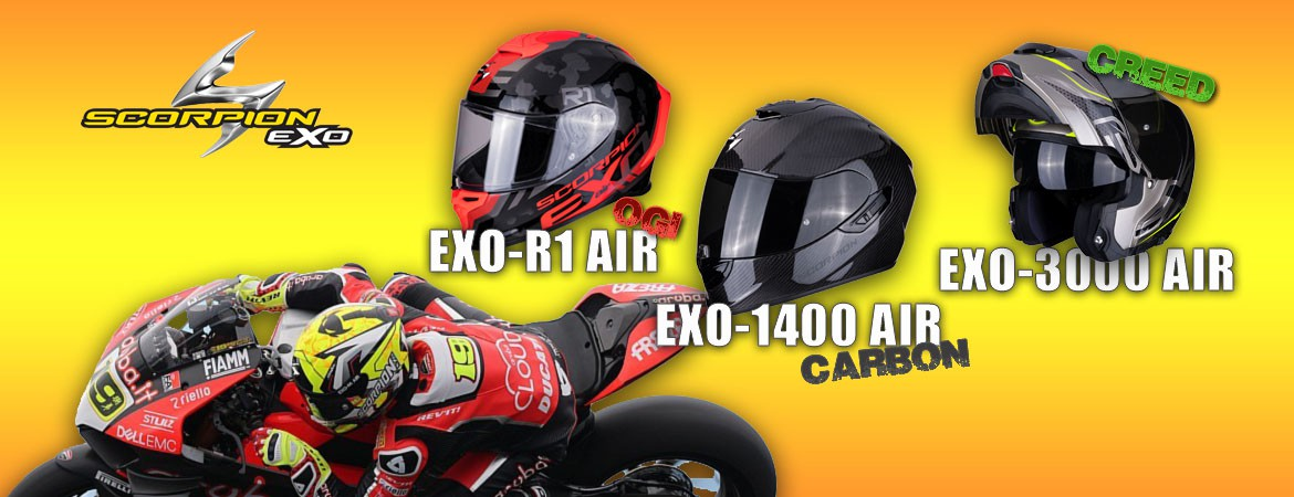 Cascos Scorpion Air